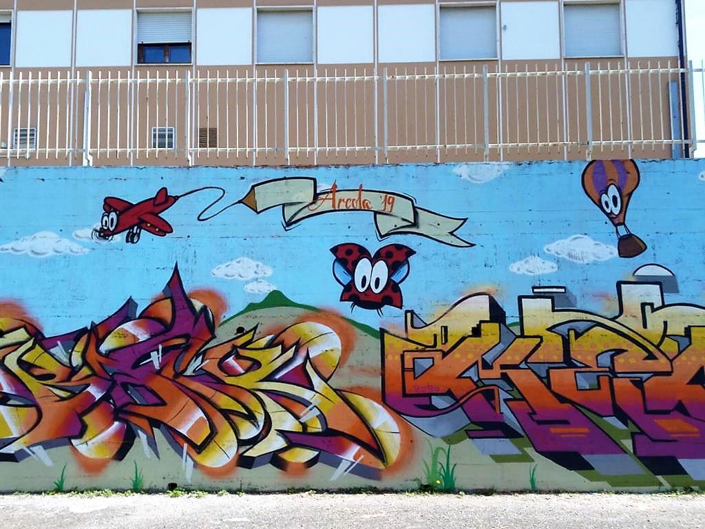 Murales in via dei Mille