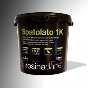 resina SPATOLATO 1K - ARESINAD'ARTE