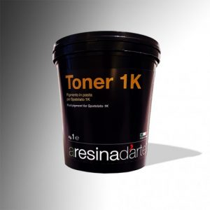 TONER 1K - RESINA - ARESINAD'ARTE